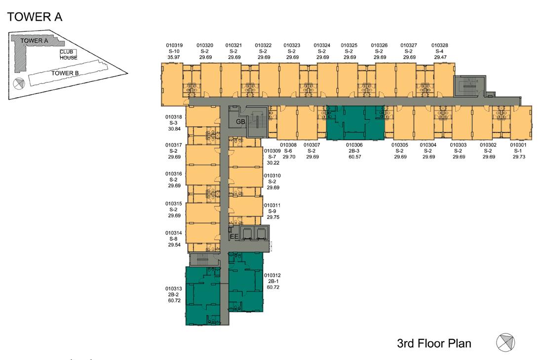 Dcondo Mine Phuket Floor Plan