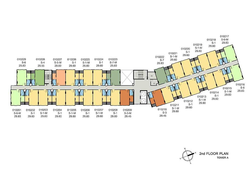 new-DCONDO-THAMMASAT2_A-2nd-floor-plan