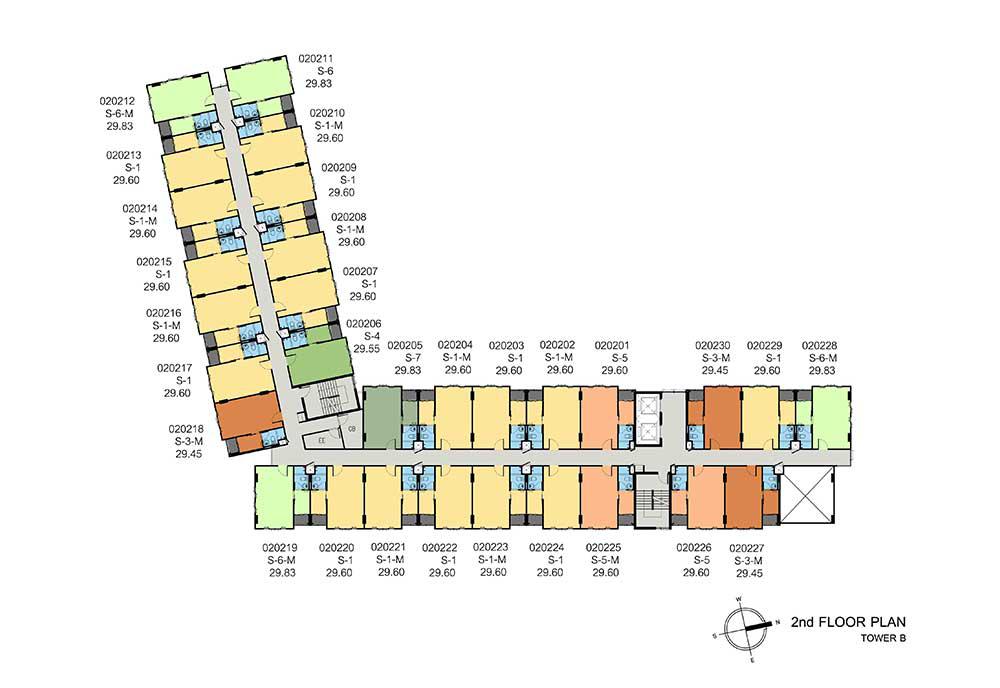 new-DCONDO-THAMMASAT2_B-2nd-floor-plan1