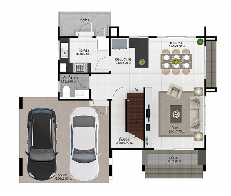 House Type Marquise Burasiri Wongwaen-Onnut, Singlehouse