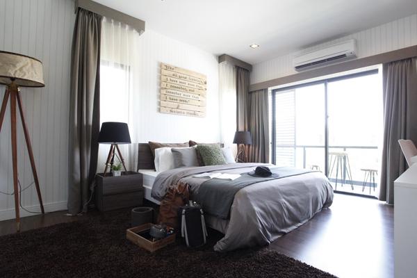 บ้านเดี่ยว แจ้งวัฒนะ ติวานนท์ สราญสิริ ติวานนท์ - แจ้งวัฒนะ (Saransiri Tiwanon Chaengwattana) ห้องนอนมาสเตอร์รูมด้านข้าง