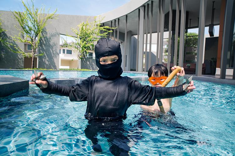 บ้านเดี่ยว แจ้งวัฒนะ ติวานนท์ สราญสิริ ติวานนท์ - แจ้งวัฒนะ (Saransiri Tiwanon Chaengwattana) สระว่ายน้ำ