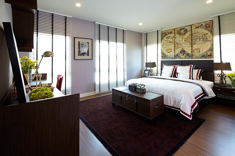 บ้านเดี่ยว แจ้งวัฒนะ ติวานนท์ สราญสิริ ติวานนท์ - แจ้งวัฒนะ (Saransiri Tiwanon Chaengwattana) ห้องนอนขนาดใหญ่มาสเตอร์รูม