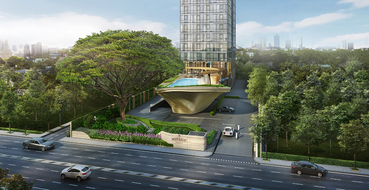 Condo Thonglor The Monument Thong Lo Entrance