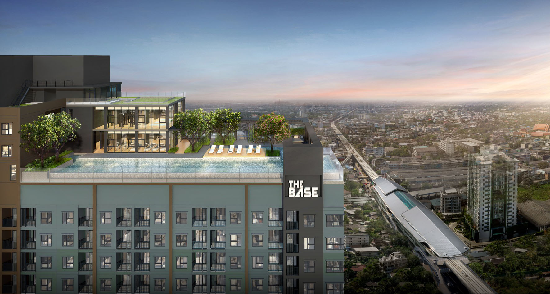THE BASE Phetkasem Condominium  ,
