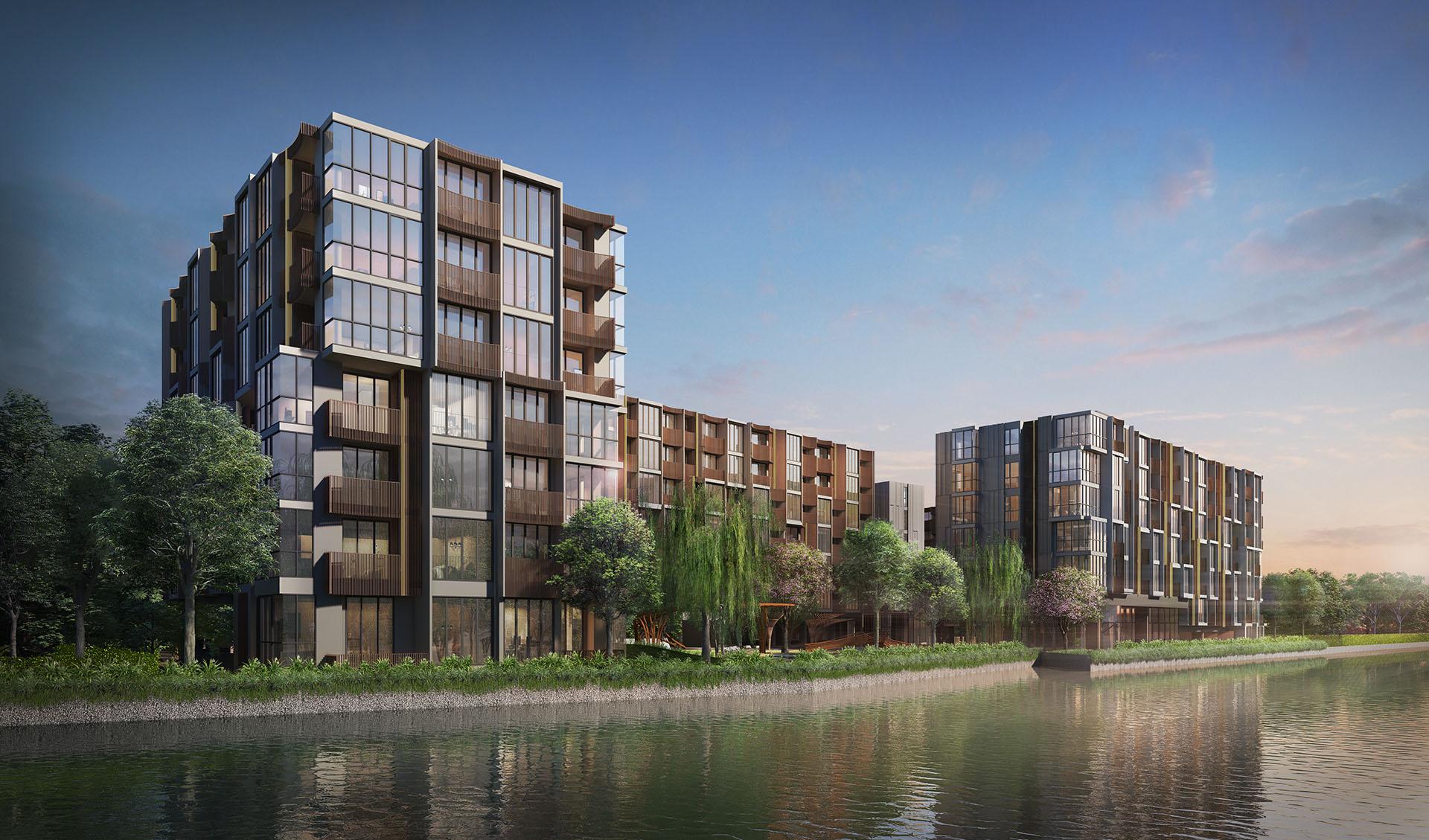 kawa haus l condominium in bangkok l sansiri. Black Bedroom Furniture Sets. Home Design Ideas