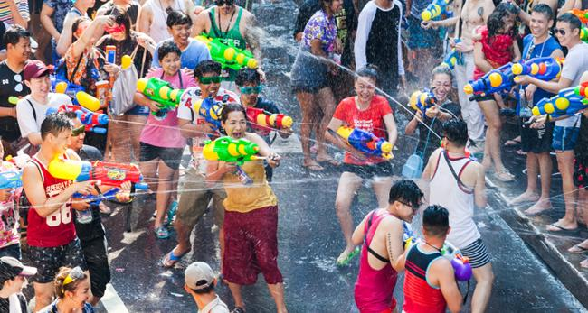 泰國新年潑水節