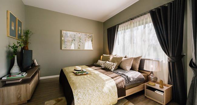 Siri Place Tiwanon 卧室设计