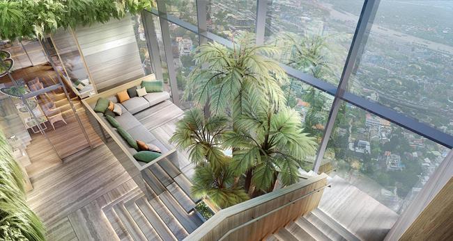 Oka Haus Sukhumvit 的室内设计