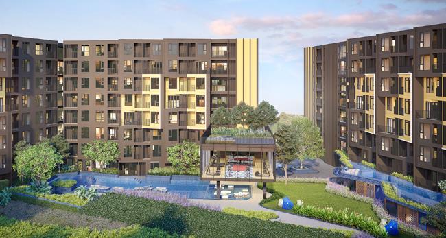 The BASE Central-Phuket, Sansiri's latest development in Phuket