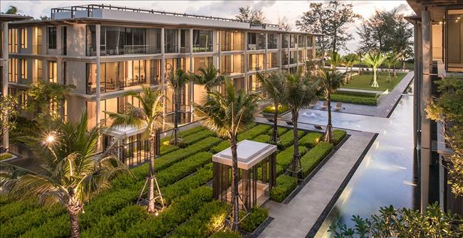 尚思瑞在普吉島邁考( Mai Khao) 海灘的公寓建