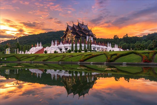 清邁 Ratchaphruek 皇家花園