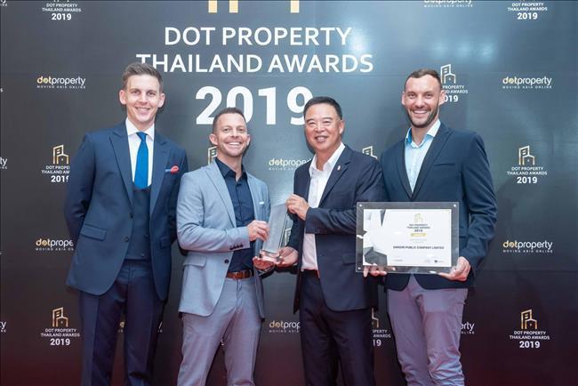 Sansiri Dot Property Thailand Awards
