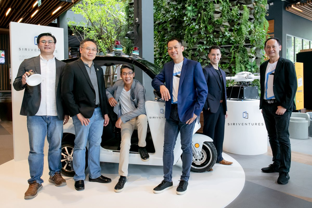 "Siri Ventures joins forces with NSTDA to first launch ""Autonomous Car"", ""Drone Delivery"", ""Sound Sensor for Security"" in SIRI VENTURES Private PropTech Sandbox at T77"