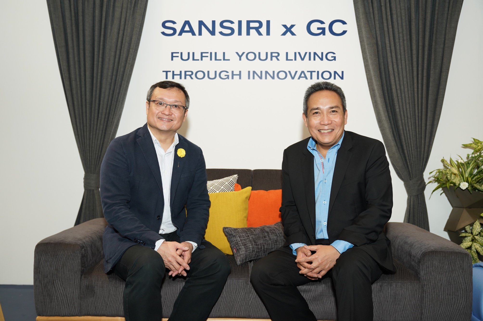 SANSIRI x GC TO BUILD THAILAND'S FIRST 'GREEN SOCIETY' BOLSTERING ITS LEADERSHIP IN CIRCULAR LIVING