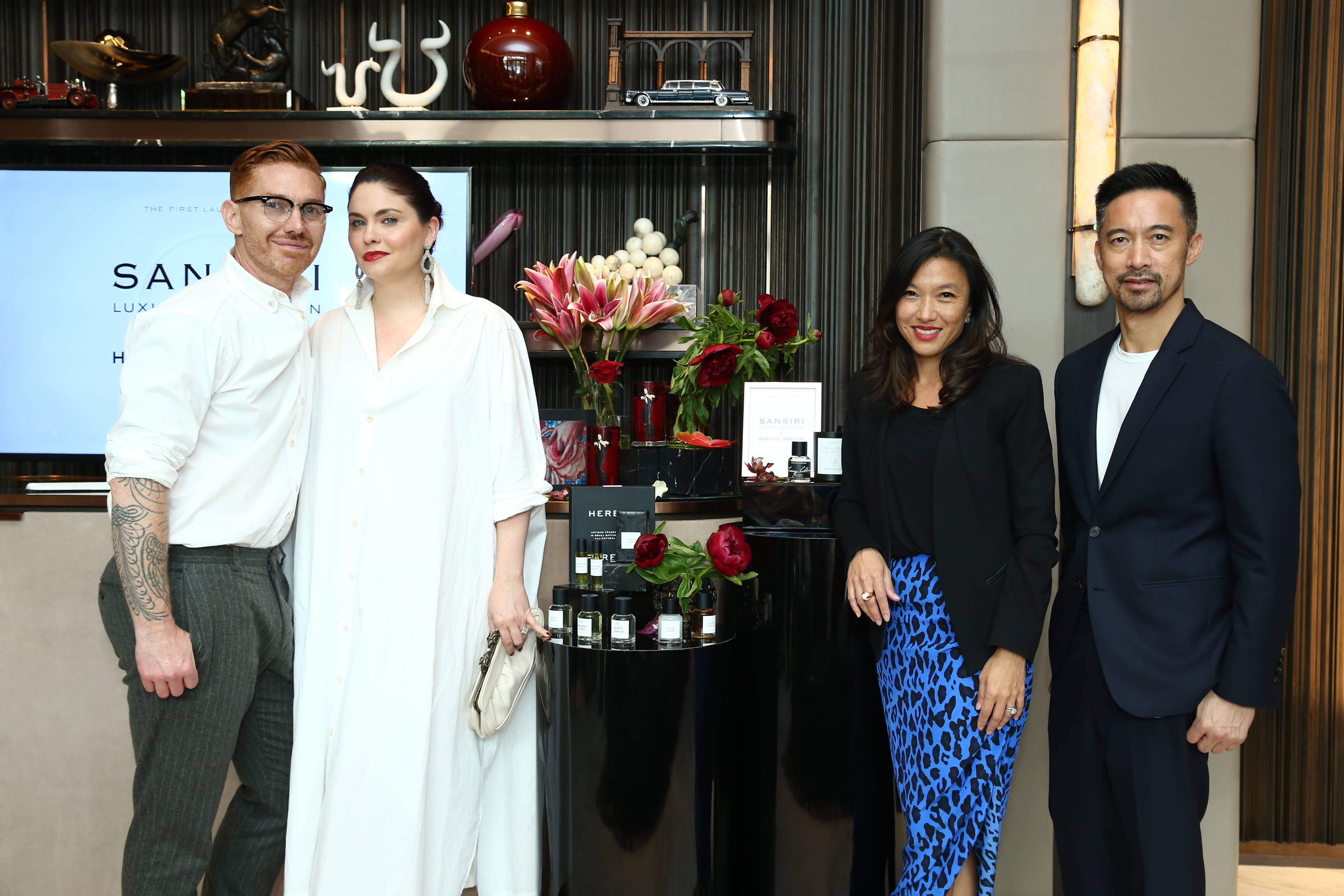 "SANSIRI partners with ""HERETIC PARFUM"" Introducing a Tasteful Home Fragrance Collection with Exclusive and Signature Scents to Elevate the Sophistication of Living Experience  Inspired by SANSIRI LUXURY COLLECTION, Debuting for the First Time in Asia"