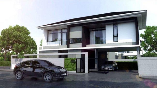 Setthasiri Krungthep Kreetha Single-House  ,