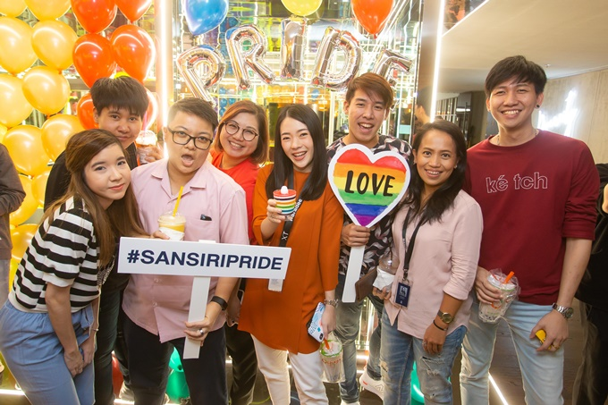 SansiriPride celebrates gender diversity and equality, highlighting the need to create an inclusive working community that embraces differences