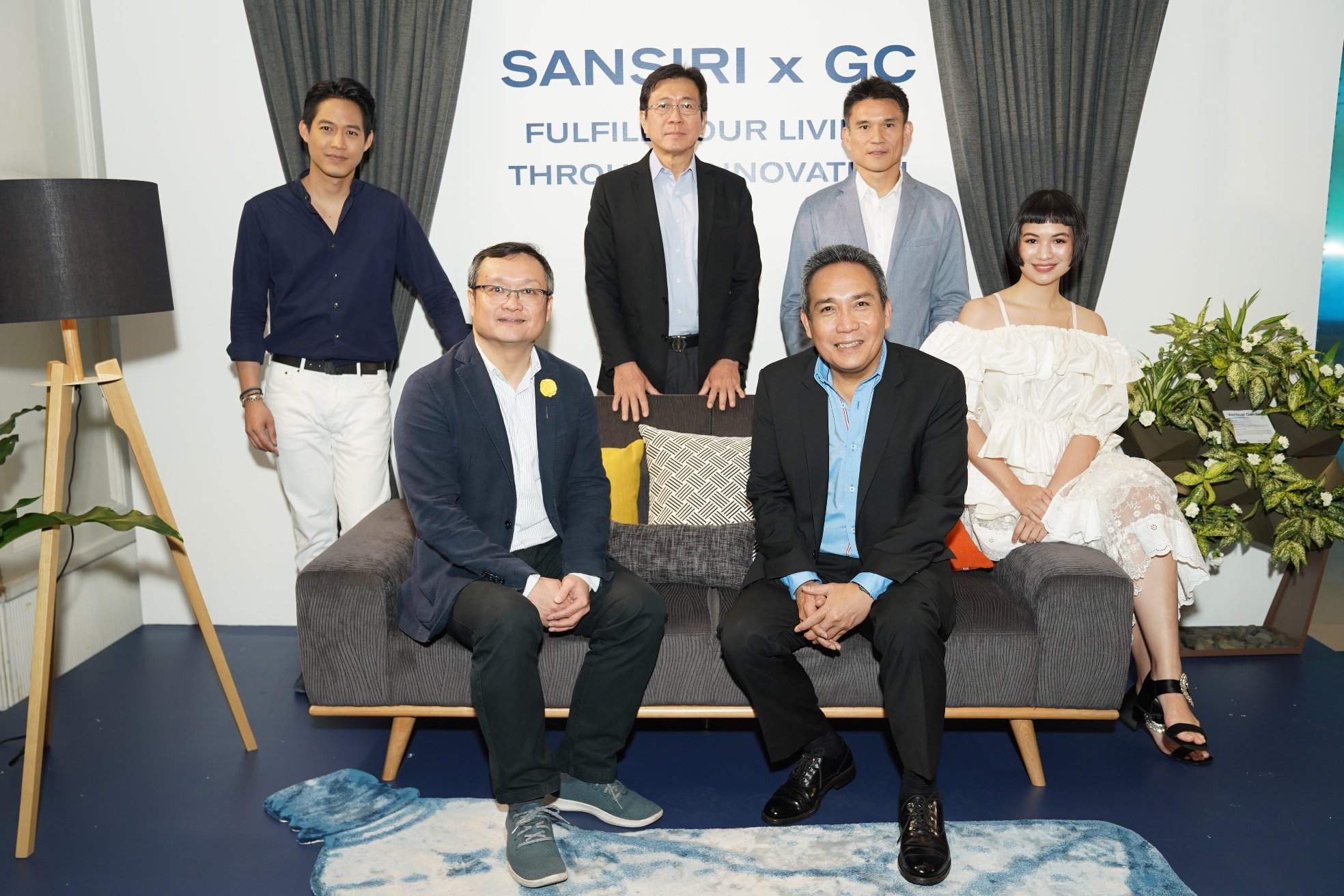 SANSIRI x GC INVITE THAIS TO BE MORE SUSTAINABLE  WITH THE CREATION OF ENVIRONMENTALLY-FRIENDLY FURNITURE  UNDER PARTNERSHIP WITH SB FURNITURE AND PASAYA;  TO BE DISPLAYED IN SANSIRI RESIDENCES
