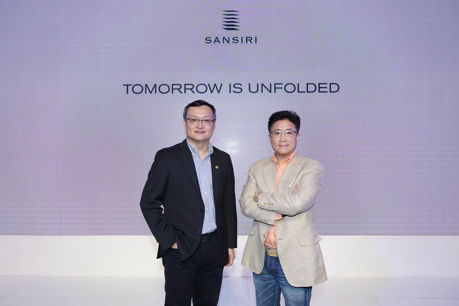 "Sansiri unveils 2018 business direction guided by ""Tomorrow is Unfolded"" strategy New high presale and project value set."