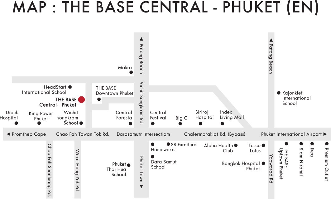 THE BASE Central Phuket Condominium Phuket  , Phuket